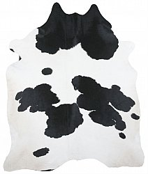 Cowhide - black and white 23