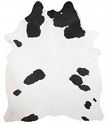 Cowhide - black and white 150