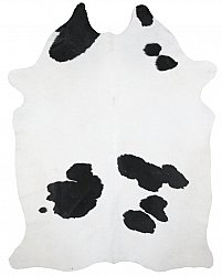 Cowhide - black and white 186