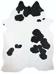 Cowhide - black and white 106