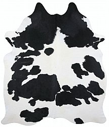 Cowhide - black and white 107