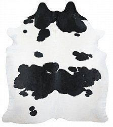 Cowhide - black and white 117