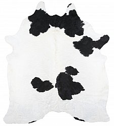 Cowhide - black and white 158