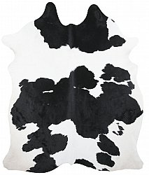 Cowhide - black and white 160