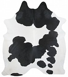 Cowhide - black and white 136