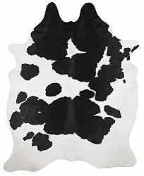 Cowhide - black and white 139