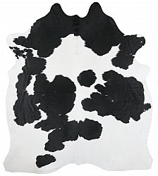 Cowhide - black and white 141