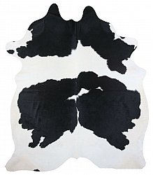 Cowhide - black and white 140