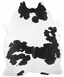 Cowhide - black and white 192