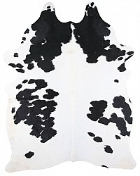 Cowhide - black and white 193