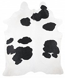 Cowhide - black and white 194