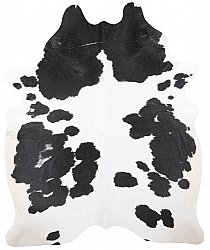 Cowhide - black and white 171