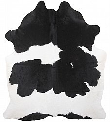 Cowhide - black and white 198