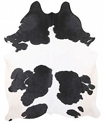 Cowhide - black and white 178