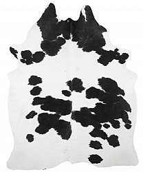 Cowhide - black and white 185