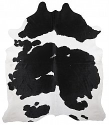 Cowhide - black and white 204