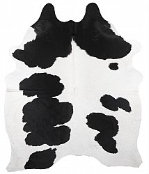 Cowhide - black and white 208