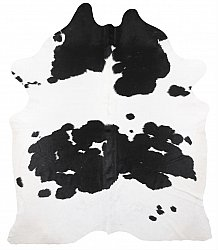 Cowhide - black and white 212