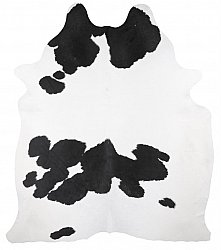 Cowhide - black and white 217