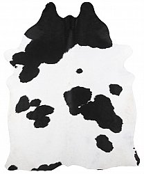 Cowhide - black and white 219