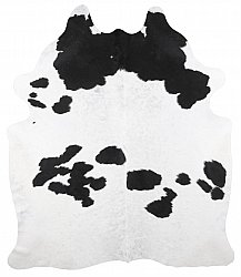 Cowhide - black and white 222