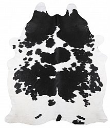 Cowhide - black and white 223