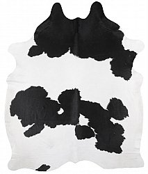 Cowhide - black and white 232