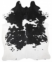 Cowhide - black and white 254
