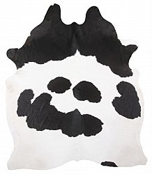 Cowhide - black and white 29