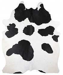 Cowhide - black and white 123