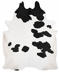 Cowhide - black and white 307