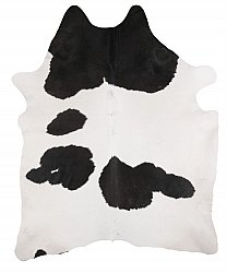 Cowhide - black and white 310