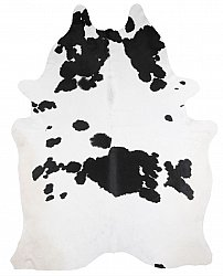 Cowhide - black and white 317