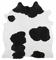 Cowhide - black and white 03