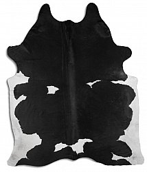 Cowhide - black and white 19