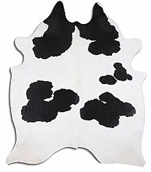 Cowhide - black and white 25