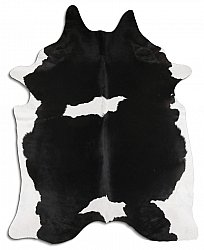 Cowhide - black and white 38