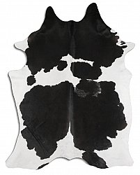 Cowhide - black and white 44
