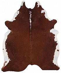 Cowhide - Classic Brown and White 06