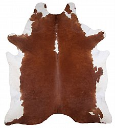 Cowhide - Classic Brown and White 02