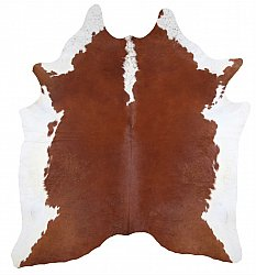 Cowhide - Classic Brown and White 11