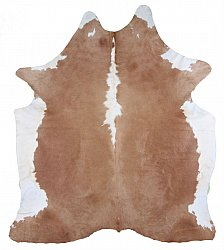 Cowhide - Classic Brown and White 14