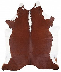 Cowhide - Classic Brown and White 18