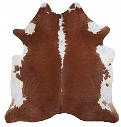 Cowhide - Classic Brown and White 27