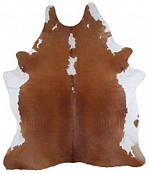 Cowhide - Classic Brown and White 30