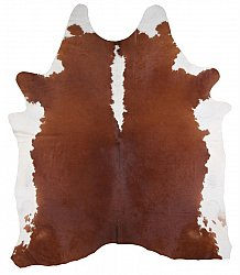 Cowhide - Classic Brown and White 31
