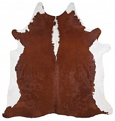 Cowhide - Classic Brown and White 32