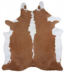 Cowhide - Classic Brown and White 33