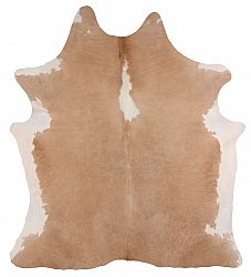 Cowhide - Classic Brown and White 36