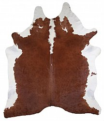 Cowhide - Classic Brown and White 38